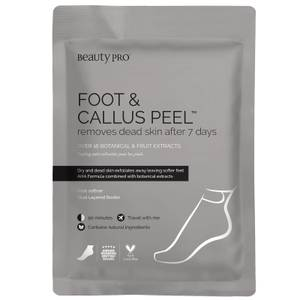 BeautyPro Foot and Callus Peel with over 17 Botanical and Fruit Extracts (1 Pair)