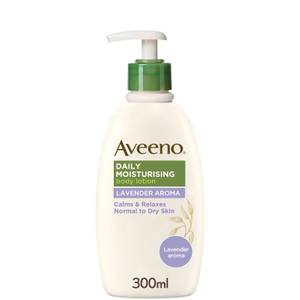 Aveeno Daily Moisturising Lotion - Lavender(아비노 데일리 모이스처라이징 로션 - 라벤더 300ml)
