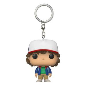 Stranger Things Dustin Pocket Funko Pop! Vinyl Keychain