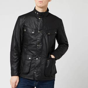 Barbour International Men's Duke Wax Jacket - Black