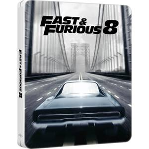 Fast & Furious 8: 4K Ultra HD - Zavvi UK Exklusives Limited Edition Steelbook