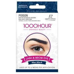1000 Hour Eyelash & Brow Dye Kit - Blue Black