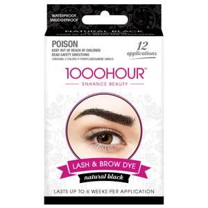 1000 Hour Eyelash & Brow Dye Kit - Natural Black