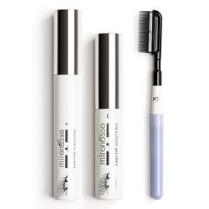 mirenesse Instant Lash Transplant Lengthening Mascara Set - White 10g