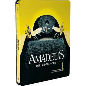 Amadeus - Zavvi UK Exclusive Limited Edition Steelbook (Limited to 1000 Copies)