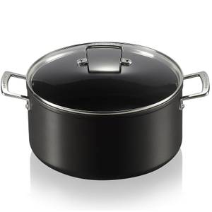 Le Creuset Toughened Non Stick Deep Casserole Dish - 28cm