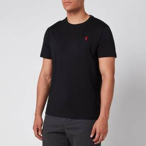 Polo Ralph Lauren Men's Custom Slim Fit Cotton T-Shirt - Black