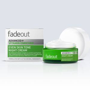 Fade Out ADVANCED + Vitamin Enriched Even Skin Tone Night Cream krem nawilżający na noc