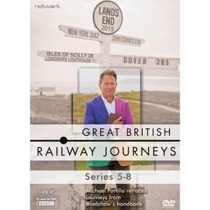 Great British Railway Journeys - Series 5-8