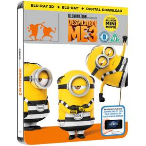 Despicable Me 3 3D (Includes 2D Version) - Zavvi UK Exclusive Limited Edition Steelbook