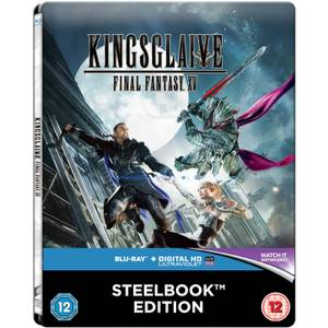 Kingsglaive: Final Fantasy XV - Zavvi UK Exclusive Limited Edition Steelbook (Includes DVD Version) (Limited to 500 Copies)