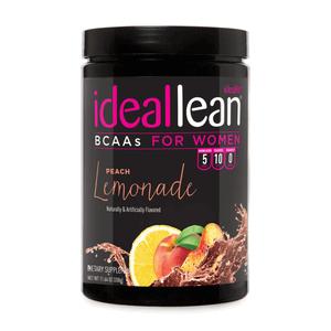 IdealLean BCAAs - Peach Lemonade - 30 Servings