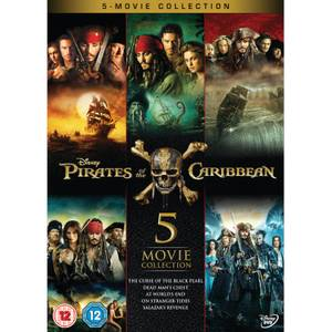 Pirates of the Caribbean: 1-5 Box Set