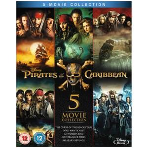 Piratas del Caribe: Caja recopilatoria 1-5