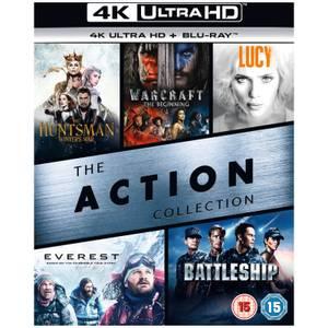 Coffret Films d'Action 4K - 4K Ultra HD
