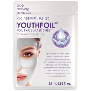 Листовая маска с гиалуроновой кислотой Skin Republic YouthFoil Face Mask 25 мл
