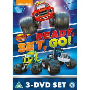 Blaze & The Monster Machines: Ready, Set, Go Collection! (Blaze Triple)