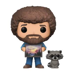 Bob Ross with Raccoon Funko Pop! Vinyl