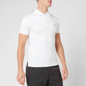 Polo Ralph Lauren Men's Slim Fit Soft-Touch Polo Shirt - White