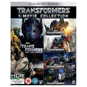 Transformers : Collection 5 films - 4K Ultra HD (disque bonus)