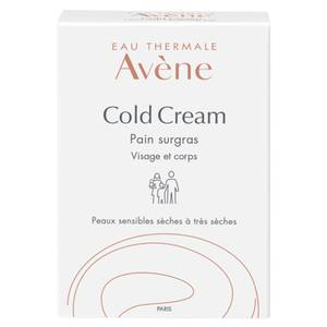 Avène Cold Cream Ultra Rich Cleansing Bar for Dry, Sensitive Skin 100g