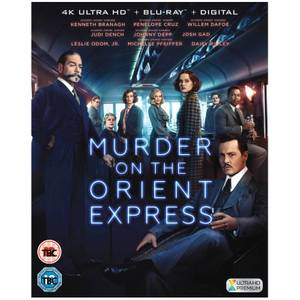 Murder On The Orient Express - 4K Ultra HD