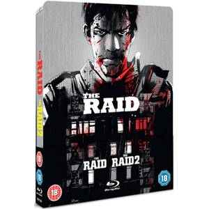 The Raid & The Raid 2 - Steelbook Édition Limitée Exclusivité Zavvi