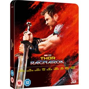Thor Ragnarok 3D (Includes 2D Version) - Zavvi UK Exclusive Limited Edition Steelbook