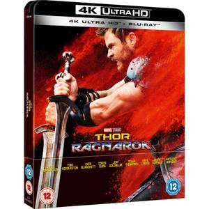 Thor Ragnarok - 4K Ultra HD (Including 2D Blu-ray) - Zavvi UK Exclusive Limited Edition Steelbook