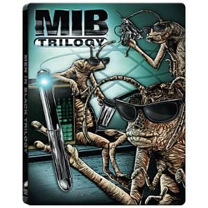 Men In Black Trilogy: 4k Ultra HD (Includes 2D version) - Zavvi UK Exclusive Limited Edition Steelbook