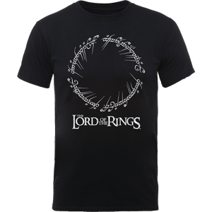 The Lord Of The Rings Men's T-Shirt in Black