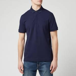 Lacoste Men's Short Sleeve Paris Polo Shirt - Navy Blue