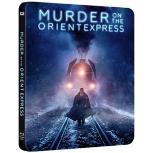 Le Crime de l'Orient-Express - Steelbook Édition Limitée Exclusivité Royaume-Uni pour Zavvi
