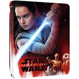 Star Wars, épisode VIII : Les Derniers Jedi - 4K Ultra HD Steelbook Édition Limitée Exclusivité Zavvi UK (avec Version 2D)