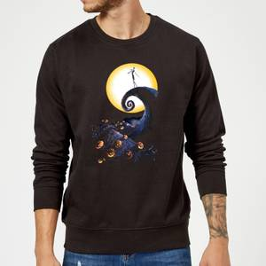 The Nightmare Before Christmas Jack Skellington Pumpkin King Colour Schwarz Pullover