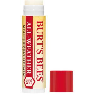 Burt's Bees 100% Natural All Weather SPF15 Moisturising Lip Balm 4.25g