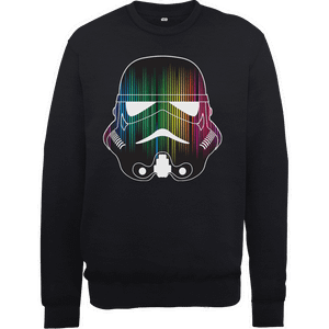 Star Wars Vertical Lights Stormtrooper Sweatshirt - Black