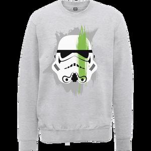 Star Wars Paintstroke Stormtrooper Sweatshirt - Grey
