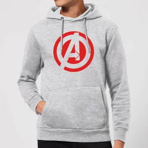 Sweat Femme Marvel Avengers Assemble - Logo Captain America - Blanc