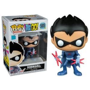 Teen Titans Go! Red X Unmasked EXC Pop! Vinyl Figure