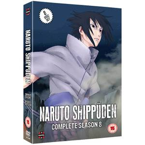 Naruto Shippuden - Complete Series 8 Box Set (Episodes 349-401)