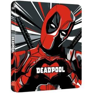 Deadpool 4K Ultra HD (+ 2D) - Steelbook Exclusif Limité pour Zavvi