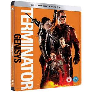 Terminator Genisys - 4K Ultra HD - Zavvi Exklusives Limited Edition Steelbook