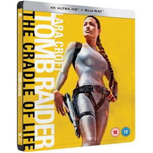 Lara Croft Tomb Raider: The Cradle of Life - 4K Ultra HD - Zavvi Exclusive Limited Edition Steelbook