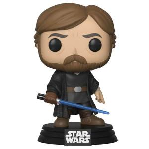 Star Wars Gli Ultimi Jedi Luke Skywalker w/Light Saber Figura Pop! Vinyl