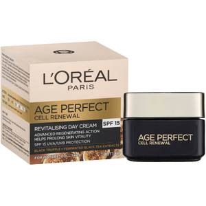 L'Oréal Paris Age Perfect Cell Renewal Revitalising SPF15 Day Cream 50ml