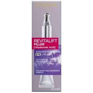 L'Oréal Paris Revitalift Filler Intensive Replumping Eye Cream 15ml