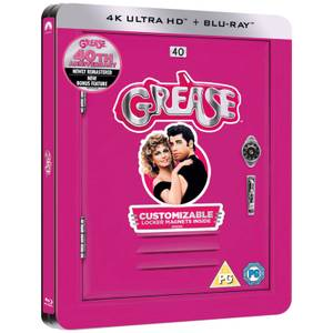 Grease 40th Anniversary - 4K Ultra HD - Zavvi Exclusive Limited Edition Steelbook