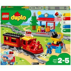 LEGO DUPLO My Town Steam Train Set with Action Bricks (10874)