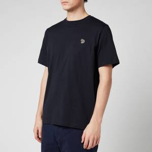 PS Paul Smith Men's Zebra Logo Regular Fit T-Shirt - Dark Navy